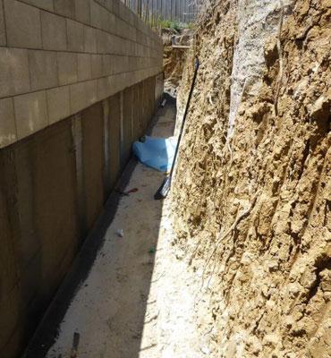 Waterproofing Retaining Walls In Melbourne Austin